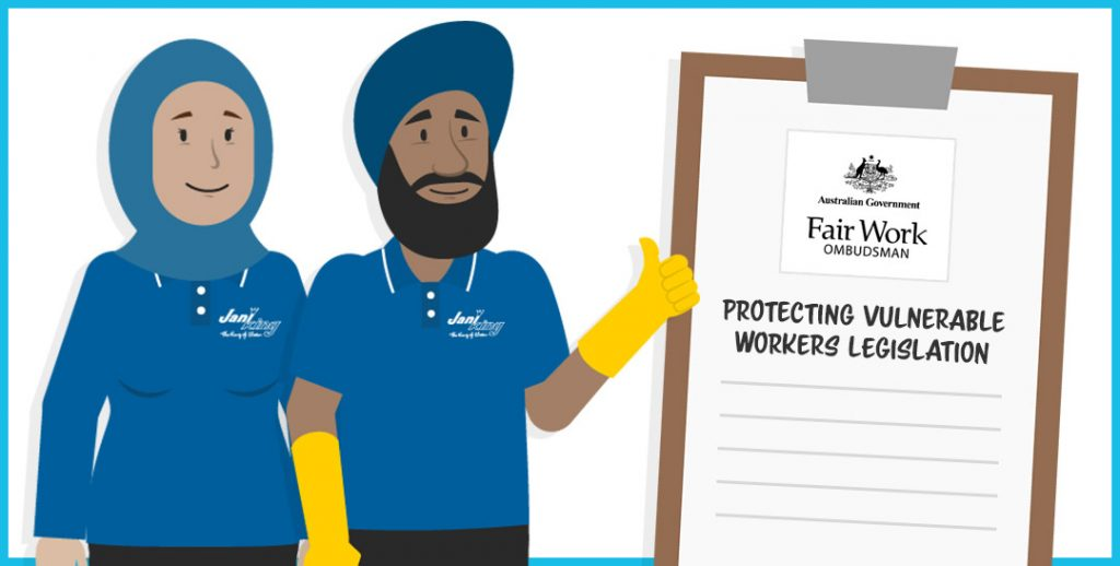 In 2017, the Protecting Vulnerable Workers legislation was introduced that addressed concerns over the underpayment and exploitation of workers.